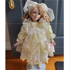 Collectible Memories Porcelain Doll